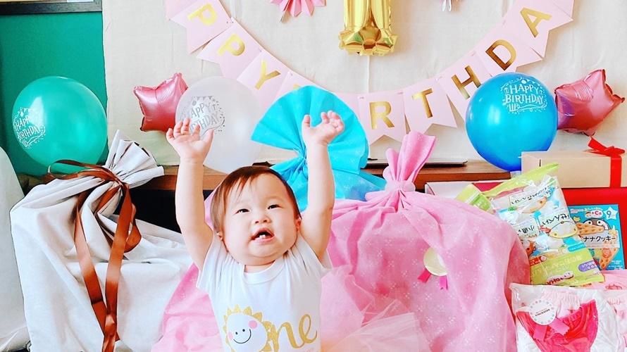 孫ちゃんの誕生日祝い♪