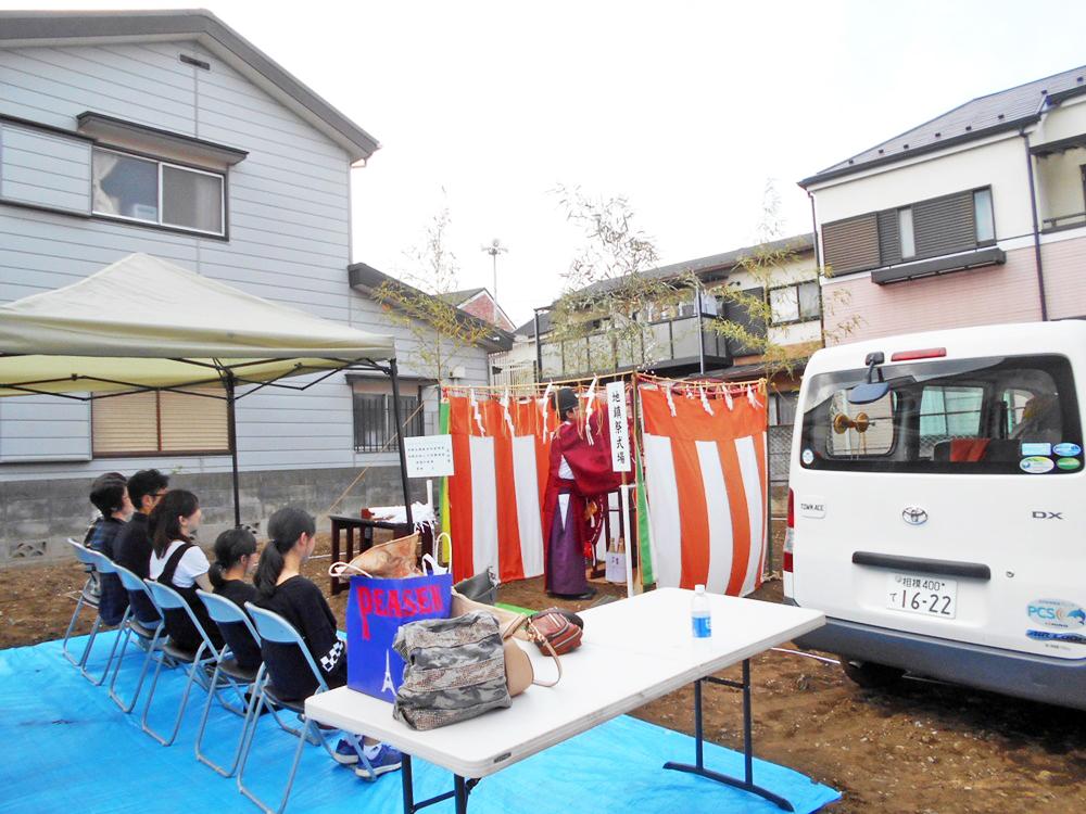昭島市Y様邸-地鎮祭-