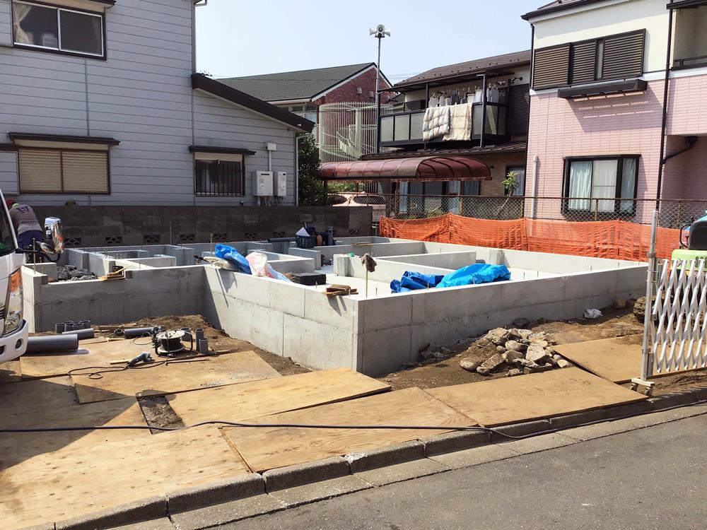 昭島市 Y様邸-基礎完成-
