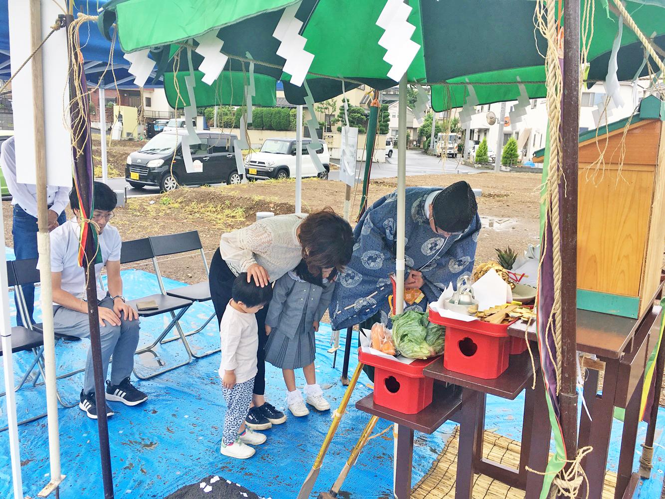 八王子市 Y様邸 -地鎮祭-