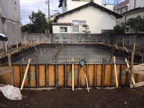 立川市 S様邸 -基礎工事-