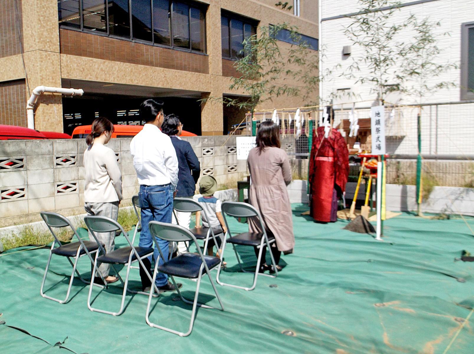 横浜市 Y様邸 -地鎮祭-