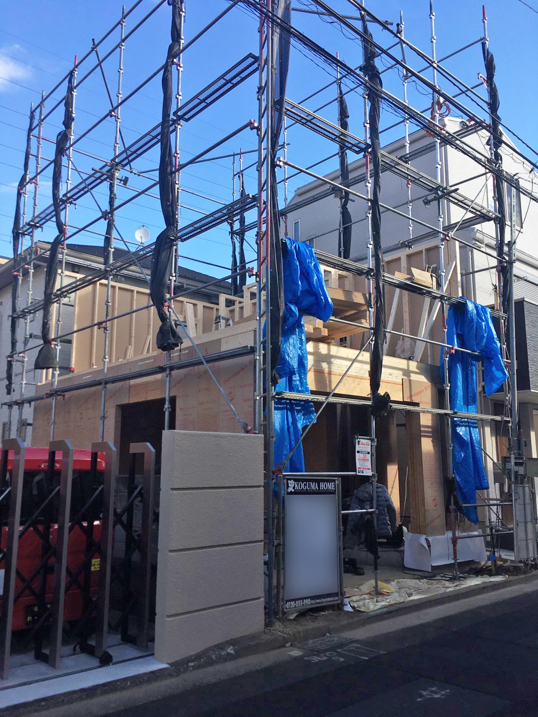 横浜市 Y様邸 -建方工事-