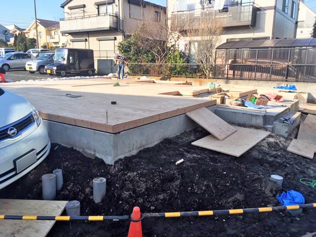 横浜市 K様邸 -1F床-