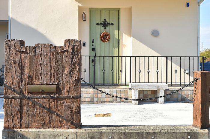 南欧の風を感じるオシャレなかわいい家