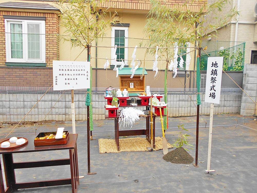 新宿区 K様邸 -地鎮祭-
