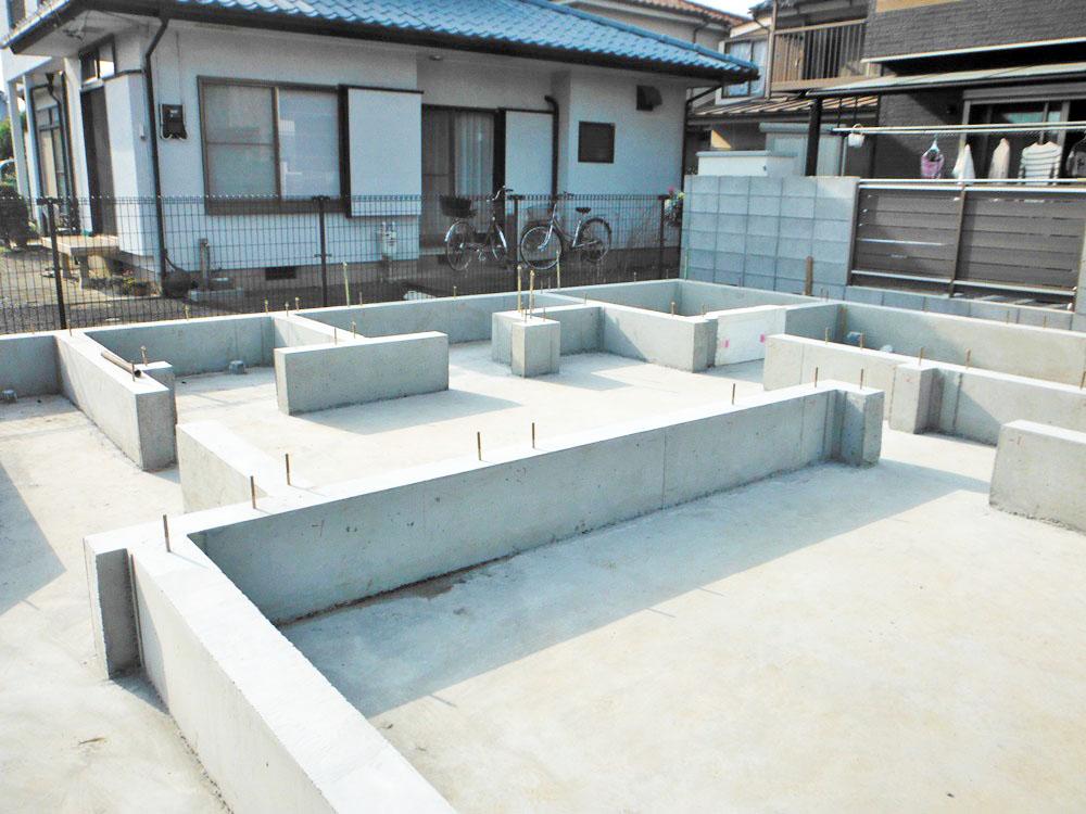 武蔵村山市 T様邸 -基礎完成-