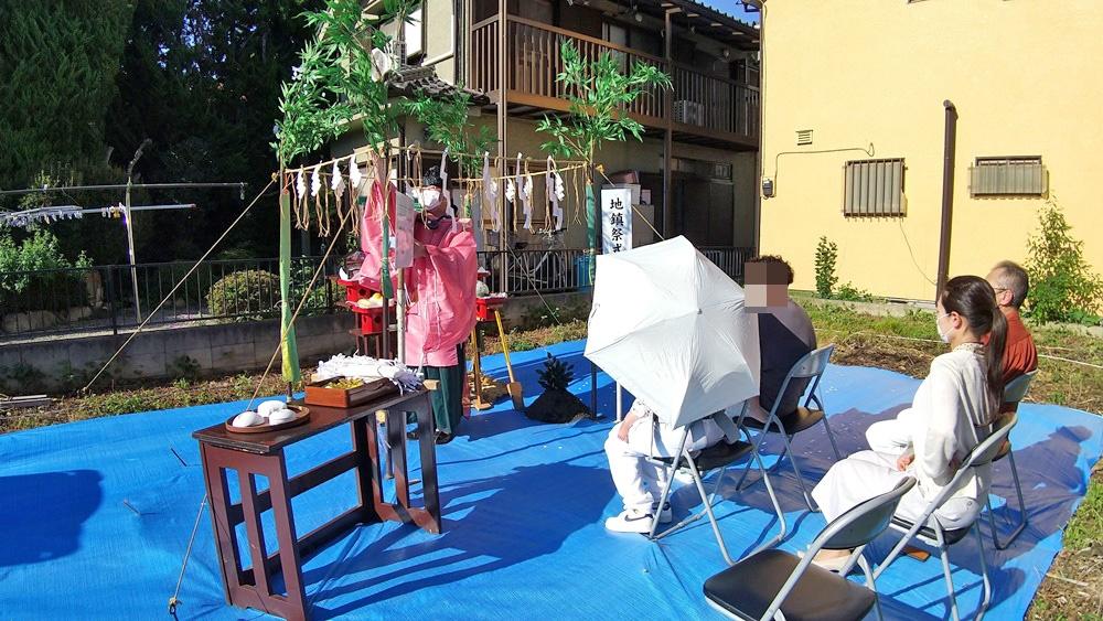 武蔵村山市 S様邸 -地鎮祭-