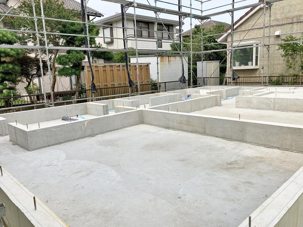 横須賀市 M様邸 -基礎完成-