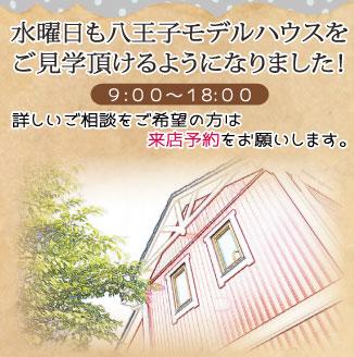 八王子モデルハウス開放