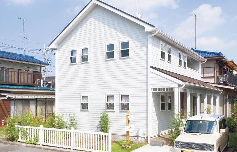 オープンスタイルのアメリカン住宅