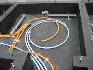 架橋ポリエチレン管を使用