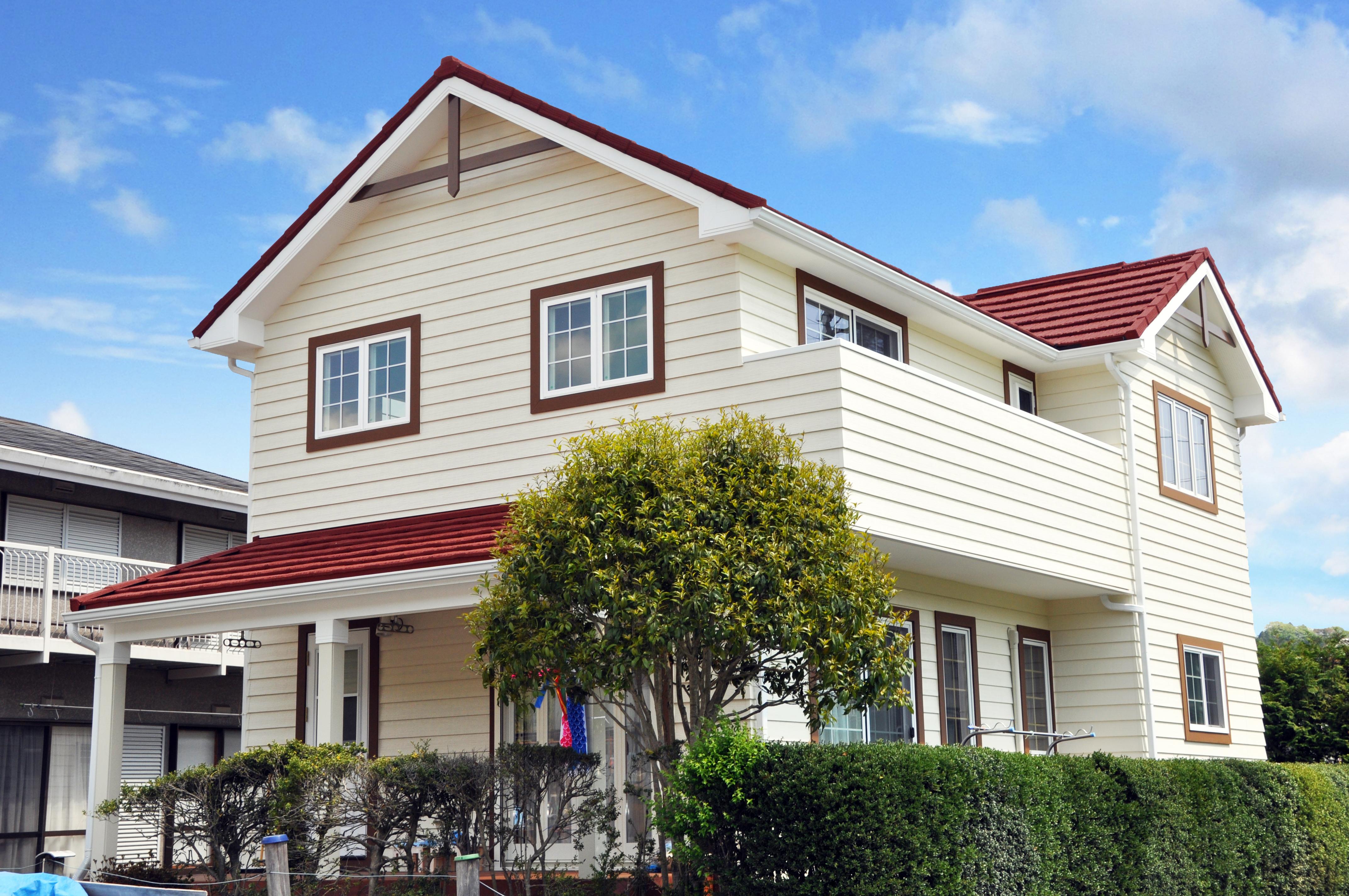 家族のために自然素材がいっぱいの家