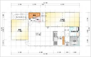 2世帯住宅図面2F