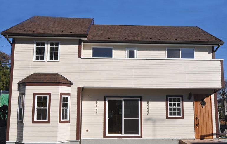 『モデルハウスと同じもの』そんなナチュラルアメリカン住宅