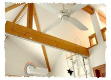 勾配天井と張り