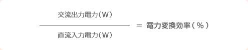 電力交換率(%)の図